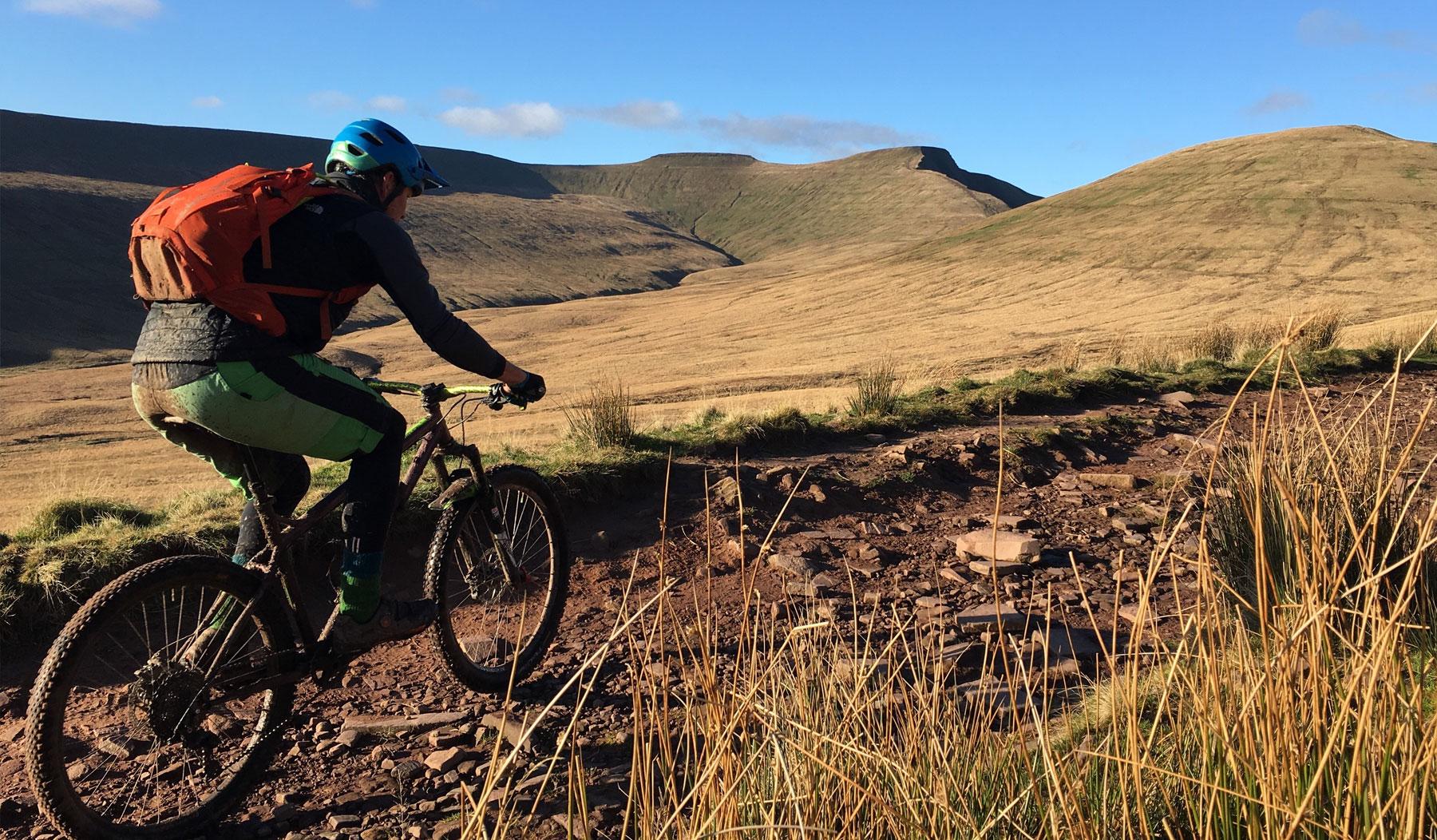 Brecon Beacons Mountain Biking Holidays