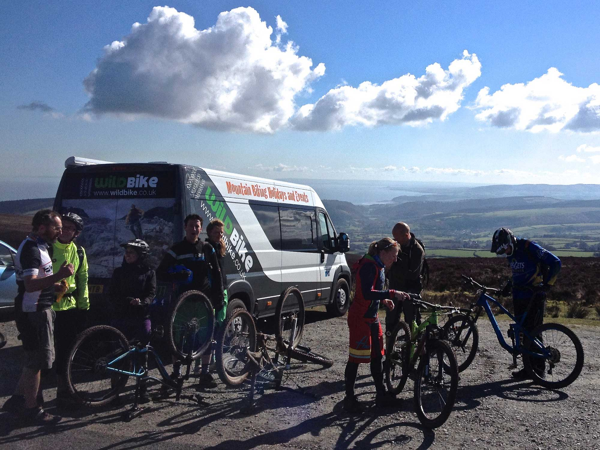 west country mountain biking holidays